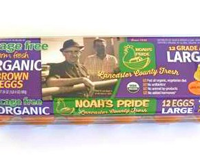 Kreider Farms Introduces Noah's Pride™ Cage Free and Organic Cage Free Eggs