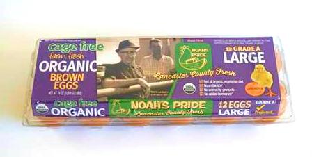 Noah's Pride Kreider Farms Organic Eggs