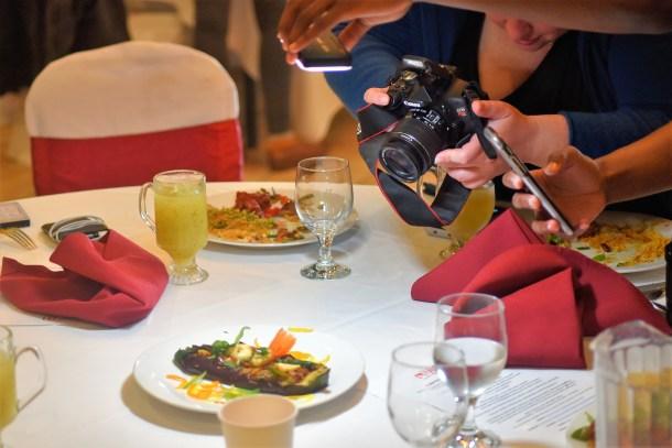 Food Bloggers at Mirchi Tasting