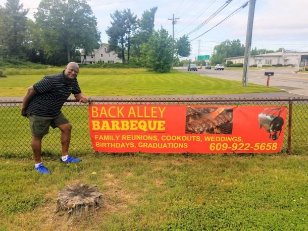 Ron Jones Back Alley Barbecue Pennsauken NJ