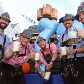 Morey's Piers Breaks Out the Bier, Bratwurst and Lederhosen for Annual Oktoberfest Weekends This Fall