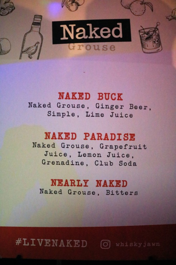 Philly Naked Bike Ride Naked Grouse Cocktails