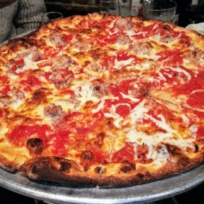 Pizza Night: DeLorenzo's Tomato Pies in Robbinsville, NJ