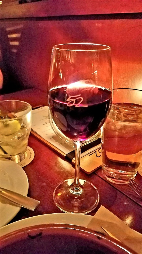 Glass of Cabernet at Seasons 52