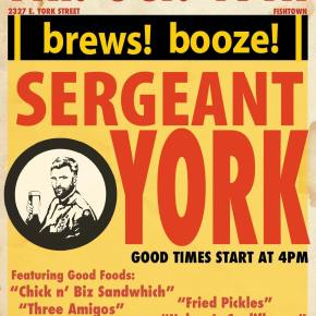 Sergeant York: A Cool New Brooklyn-Inspired Spot for Fishtown