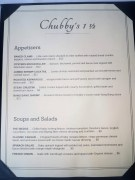 Chubby's Appetizers, Soups, and Salads