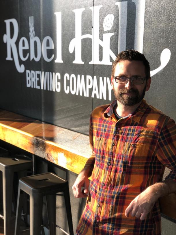 Michael Falcone Rebel Hill Brewing