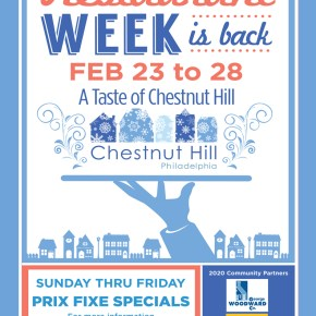 Restaurant Week: A Taste of Chestnut Hill February 23-28