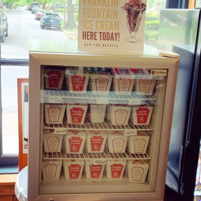 Franklin Fountain Ice Cream Available in South Jersey