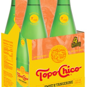 Topo Chico Twist of Tangerine Now Available at Sprouts, Whole Foods in Spring