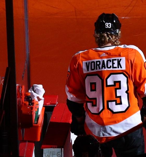 Flyers Trade Jakub Voracek