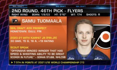 Samu Tuomaala Flyers Draft