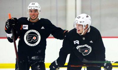 Flyers Cam Atkinson Oskar Lindblom