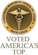 Consumers research council of america - America's Top physicians award