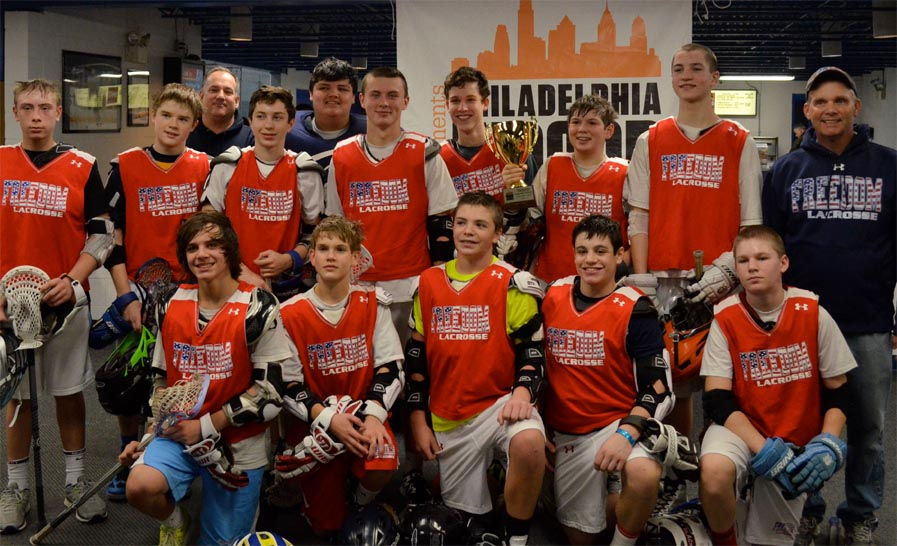 Philadelphia Freedom 2017 Wins Philly Indoor Lacrosse Championships