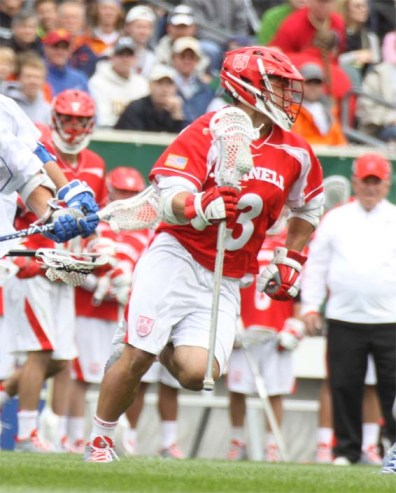 Cornell's Rob Pannell broke the BCAA's all-time scoring mark in Saturday's 16-14 semifinal loss to Duke