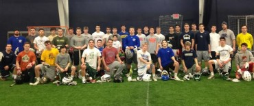 Philly face-Off League competitors on the final day of the Winter League
