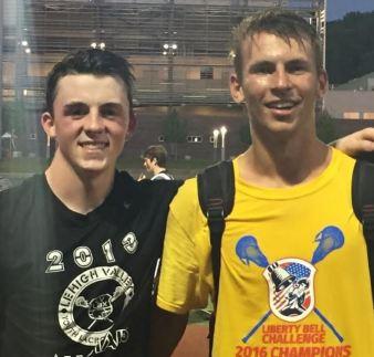 Duke's LC 2018 All-Stars Hunter Krauss & Matt Lane