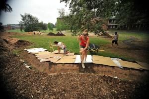 Soil Building Sheetmulching  Philadelphia Orchard Project