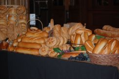 Bread courtesy of Liscio's Bakery