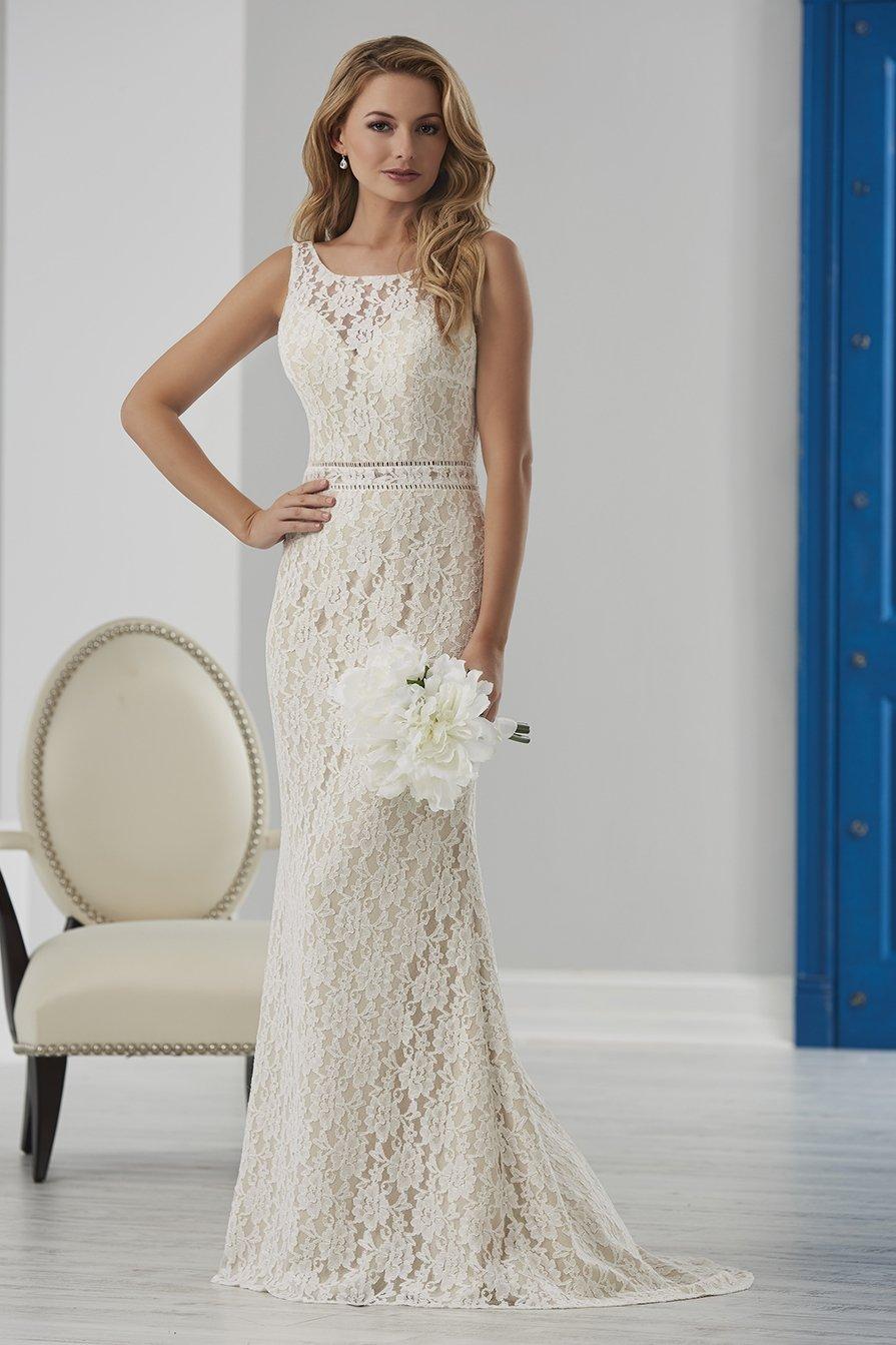 Casual Ivory Wedding Dresses
