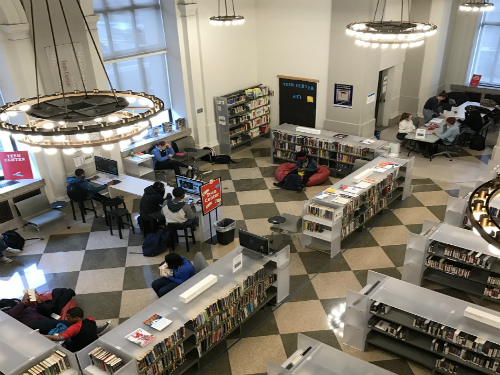 Philly Has a New Teen Center at The Free Library