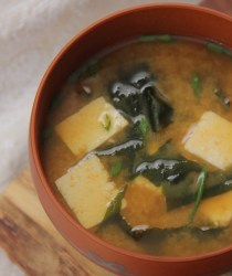 pumpkin miso soup