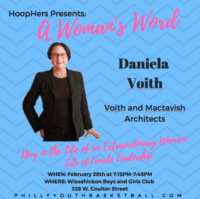 HoopHers Forum – Week 5 [2.28.18] Daniela Voith