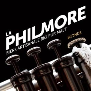 La Philmore Blonde - Bière artisanale bio et pur malt