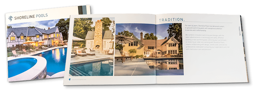 shoreline pools brochure