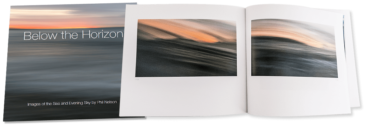 below the horizon book cover and spread