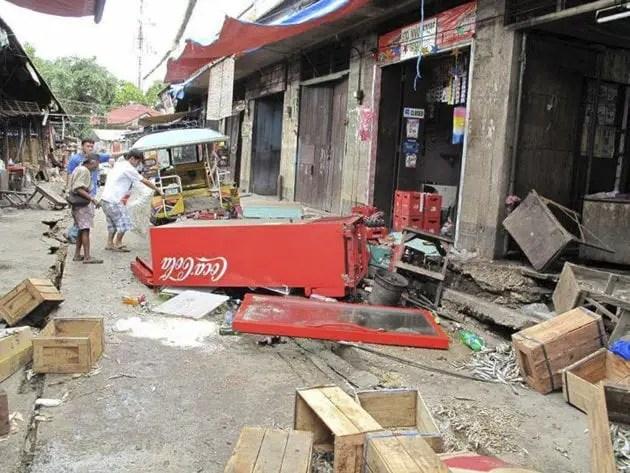 Earthquake in Visayas Region