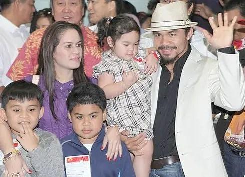 Jinkee Manny Pacquiao Family