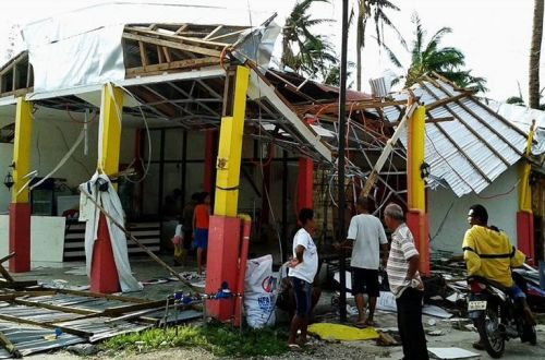 Sta. Fe Yolanda typhoon