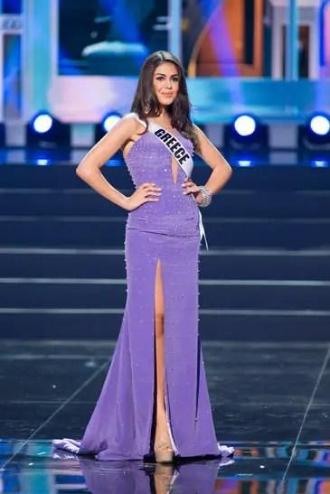 anastasia sidiropoulou miss universe greece 2013 profile