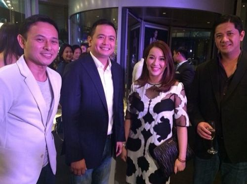 Kris Aquino-Abet Garcia