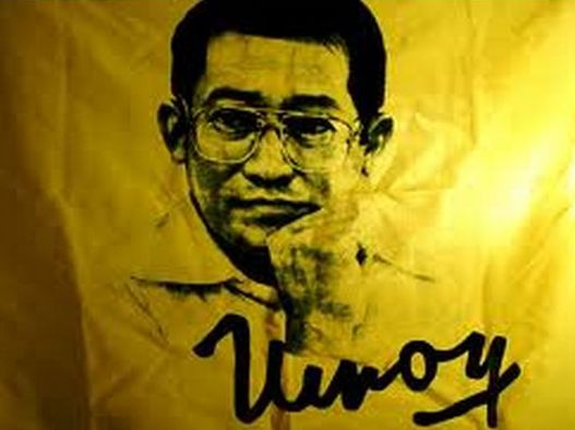 Robredo: 'Find courage to claim freedoms Ninoy died for'