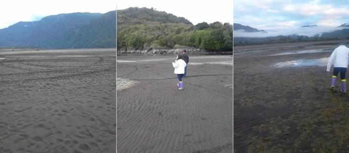 Lake Riesco disappeared