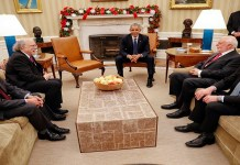 Obama with Nobel laureates