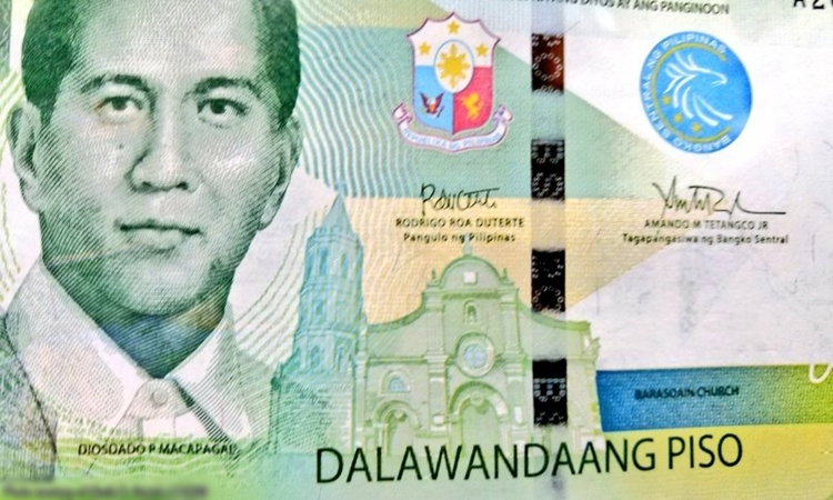 Bank Notes Bearing The Signature Of President Duterte ...