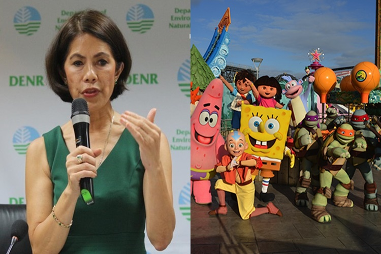 Look: Gina Lopez Won't Allow Nickelodeon Construction In Palawn