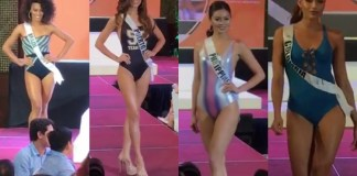 Look: Miss Universe Swimsuit Competition Goes Indoor