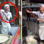 This Dancing Chinese Noodle Vendor Is Gaining Worldwide Attention!