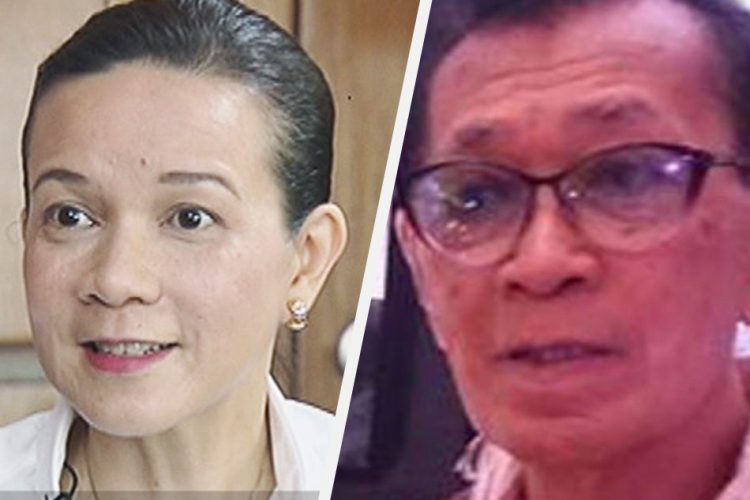 Grace Poe and Emmanuel Borlaza