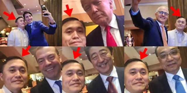 Image result for bong go selfie