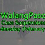 Class Suspensions