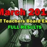 March 2018 LET Teachers Board Exam