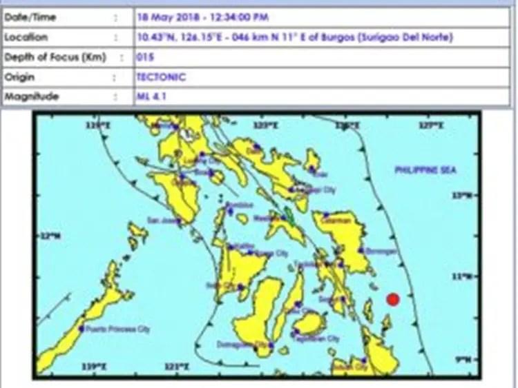 Magnitude 4.1 Earthquake