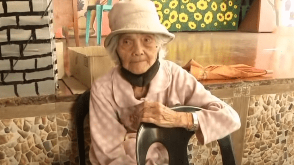 Alone 94-Year-Old Woman