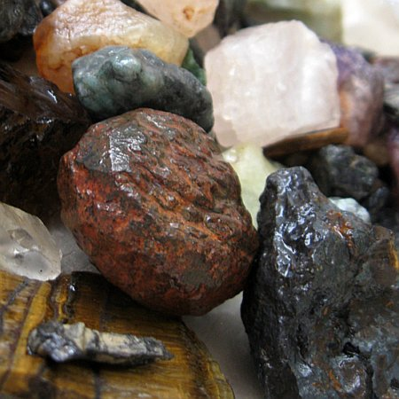 Like these raw stones, we need a little friction to become our best. Don't look at them as obstacles, think of them as a training ground!